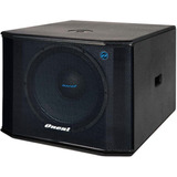 Caixa Subwoofer Grave Ativo Oneal Opsb 2215 600 Watts Rms