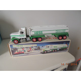 Caminh�o Tanque   Toy Tanker Truck    Hess   37 Cm   Som Luz