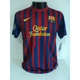 Camisa Barcelona Home 11 12 Messi 10 Patch Champions Imp e3df4c67a1758