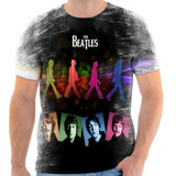 Camisa Camiseta The Beatles Rock Band 3