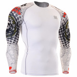 Camisa Compress�o Rash Guard Fixgear Mma Bjj Ufc Tam: 2xl