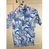 Camisa Made In Hawaii Aloha Surf Ondas Pp