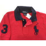 5f602633ba33d Camisa Polo Ralph Lauren Big Poney Infantil Tam 6 Original