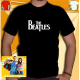Camisa The Beatles Camiseta Masculina Banda Rock Roll Basica