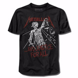 Camiseta De Rock   Metallica   And Justice For All