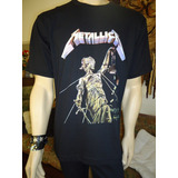 Camiseta Do Metallica   And Justice For All