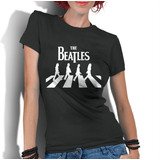 Camiseta Feminina Blusa T shirt The Beatles Banda De Rock