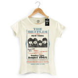 Camiseta Feminina Oficial The Beatles Tickets On Sale Now
