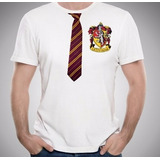 Camiseta Gryffindor Harry Potter Gravata