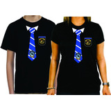 Camiseta Harry Potter Corvinal Uniforme Gravata Traje Preta