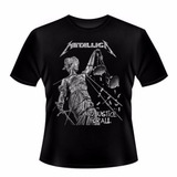 Camiseta Infantil Banda Metallica   And Justice For All