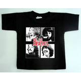 Camiseta Infantil Rock Ref 202   The Beatles 1