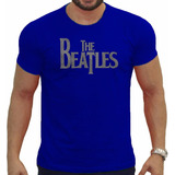 Camiseta Masculina Lendas The Beatles Logo Bandup 1