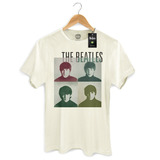 Camiseta Masculina Oficial The Beatles Four Square   Bandup