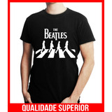 Camiseta Personalizada The Beatles Banda De Rock