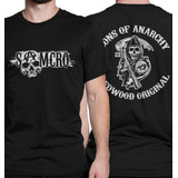 0625cfc81 Camiseta Sons Of Anarchy Camisa Samcro Séries Seriados