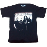 Camiseta System Of A Down   Música  Rock  Metal