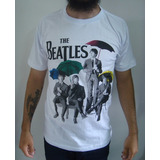 Camiseta The Beatles   Guarda chuvas