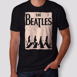 Camiseta The Beatles Abbey Road Masculina