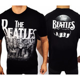 Camiseta The Beatles E637 Consulado Do Rock Camisa Banda
