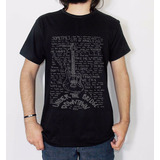 Camiseta Tshirt Red Hot Chili Peppers Letra Musica Rock