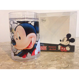 Caneca Gel Com Gliter Mickey Ou Minnie