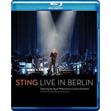 Cantor Sting   Live In Berlin   Blu Ray Show Lacrado
