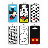 Capa Case Personalizada Mickey Minnie   Galaxy A3  A5 Ou A7
