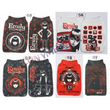 Capa Celular Ipod Estampa Jack Emily Betty Emily Crepusculo