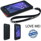 Capa Love Mei Powerful Sony Xperia Z2 Com Gorilla Glass