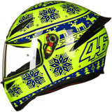 Capacete Agv K1 Winter Test 15 Valentino Rossi   Original