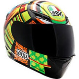 Capacete Agv K3 Elements Esportivo Integral Vr46 Original