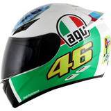 Capacete Agv K3 The Eye Olho Valentino Rossi   Original