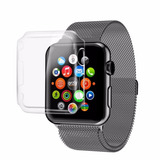 Capinha Case Relógio Apple Watch 38mm   42mm Capa Clear 360