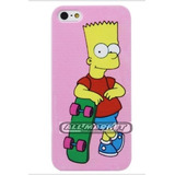 Capinha Simpsons Barth Hommer Beatles P  Iphone 5 Iphone 5s