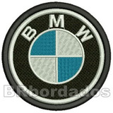 Car035 Bmw 8 5 Cm Patch Bordado Kart Macac�o F1 Cross Stock