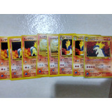 Card Pokemon Japa Neo Genesis Cyndaquil quilava typhlosion