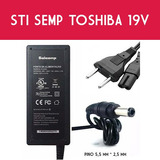 Carregador P  Laptop Semp Toshiba Sti Ni1401 Is 1454   Cabo