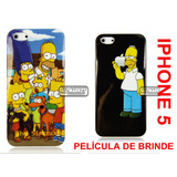 Case Capa Capinha Simpsons Barth Hommer Iphone 5 Iphone 5s