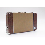 Case Tweed Fender Pedal Board Pedais Pedaleira 50x30x10cm Sp