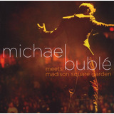 Cd  Dvd Michael Buble   Meets Madiso Square Garden  966834