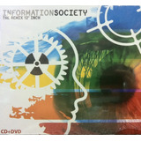Cd dvd Information Society   The Remix 12 Inch Orig Lacrado