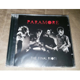 Cd dvd Paramore: The Final Riot   original   lacrado