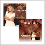 Cd   Playback Bruna Karla   Incomparável  mk  A11