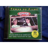 Cd  temas Do Filme Grease