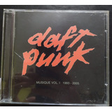 Cd - Daft Punk - Music Vol 1993 - 2005