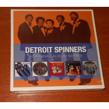 Cd   Detroit Spinners   Box 5 Cds Original Albums