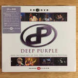 Cd   Dvd Deep Purple Live In Concert 2006 Montreux Festival
