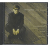 Cd   Elton John   Love Songs   Lacrado