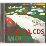 Cd   Galocantô   Pano Verde